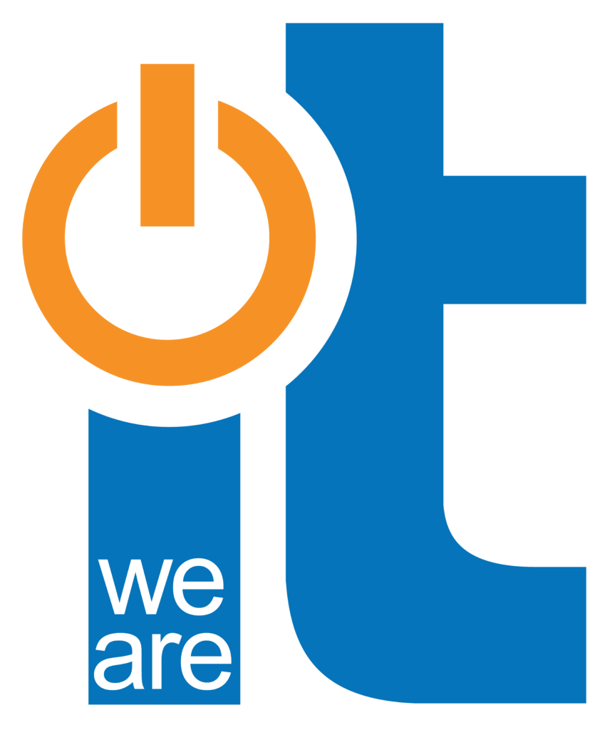 We Are IT Logo with Transparency