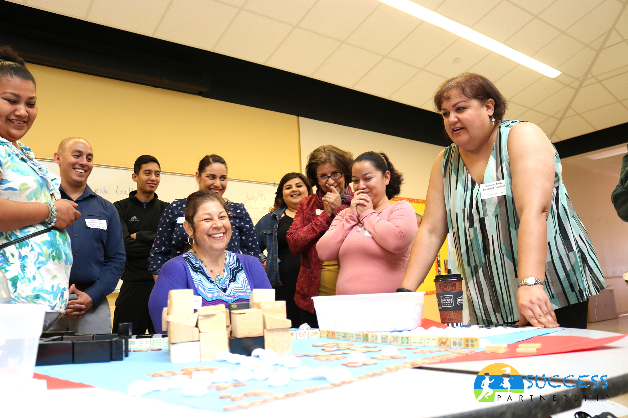 Chaparral Success Partnership Group Playing Board Game